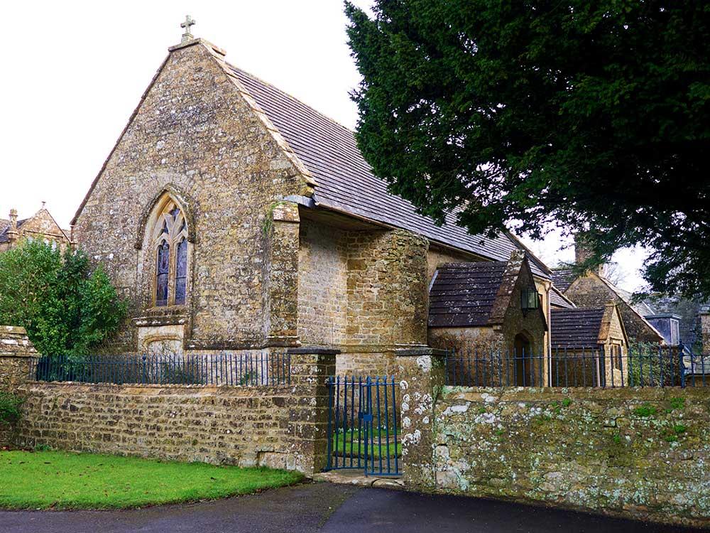 Mapperton House church - Dorset wedding venue