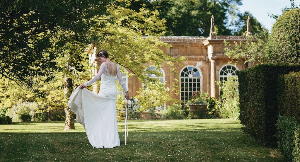 Stunning Garden Wedding Venue in Dorset - Mapperton Weddings