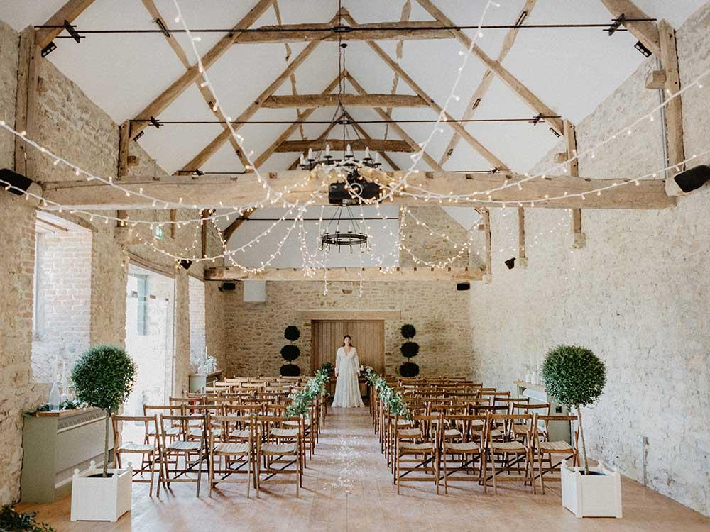 The Coach House, our Dorset wedding venue at Mapperton House