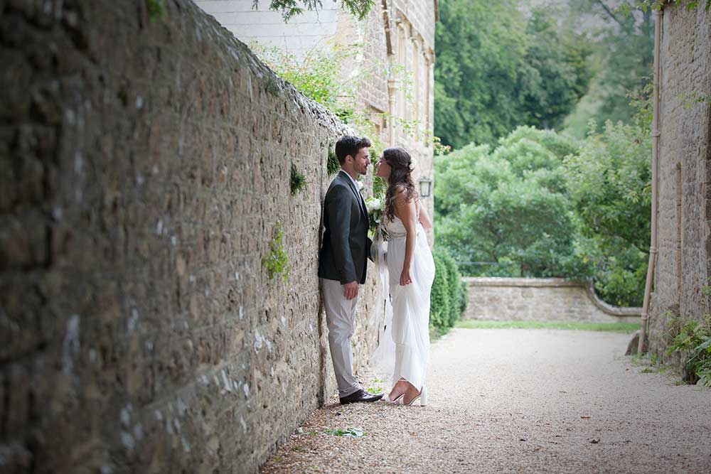 Wedding Couple near Mapperton House