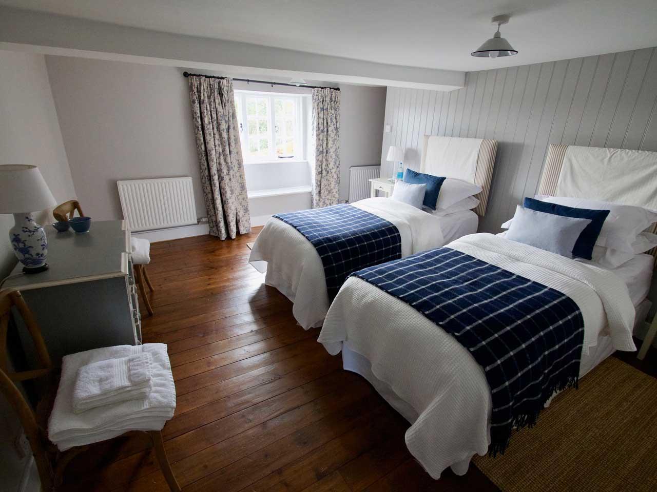The Garden Cottage Bedroom - wedding accommodation in Dorset