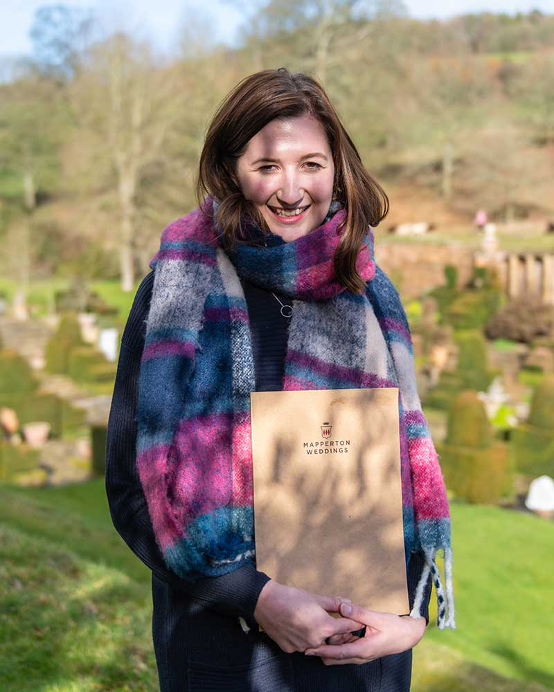 Laura Bell, Mapperton Weddings Co-ordinator