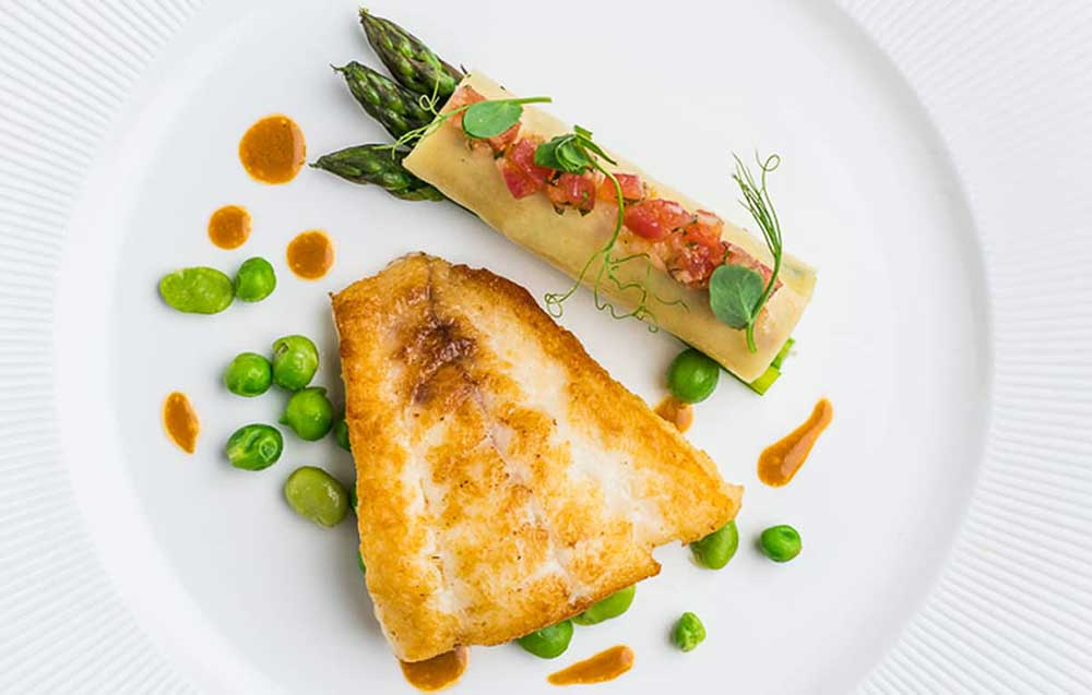 The Ollerod Restaurant food