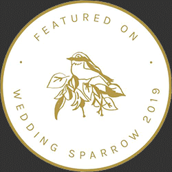 Featured on Wedding Sparrow 2019