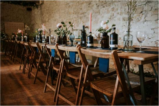 Mapperton winter wedding venue