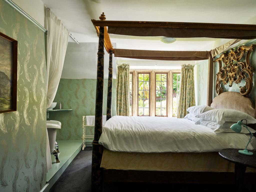 Symondsbury Manor Bedroom