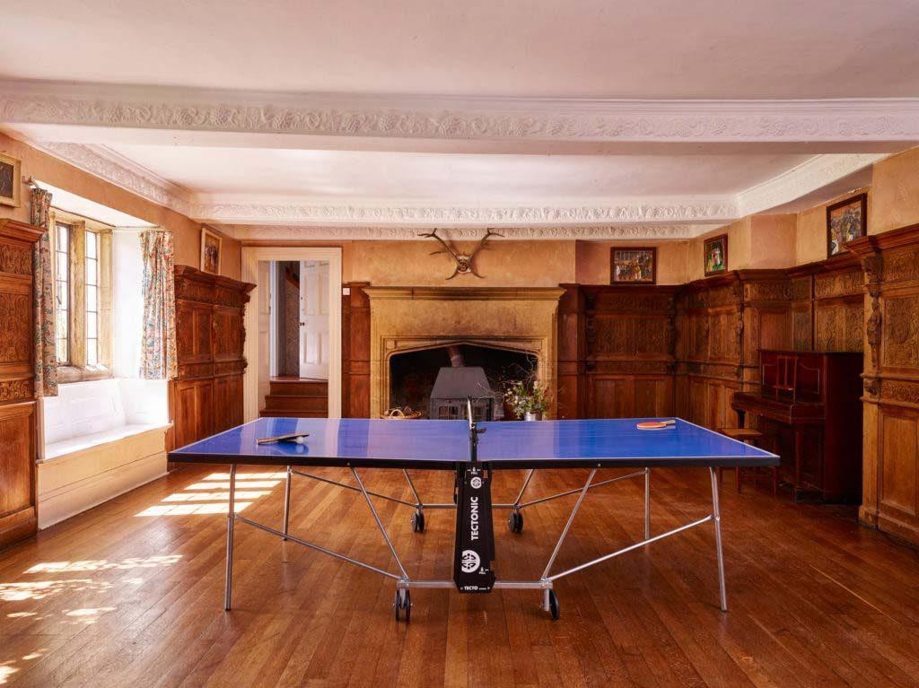 Symondsbury Manor games room