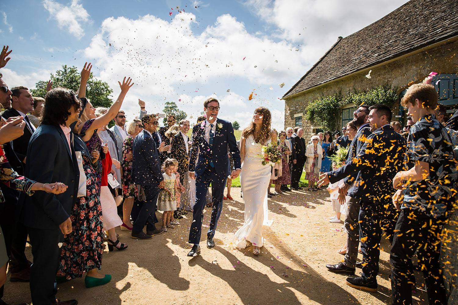 The Perfect Wedding Day At Mapperton