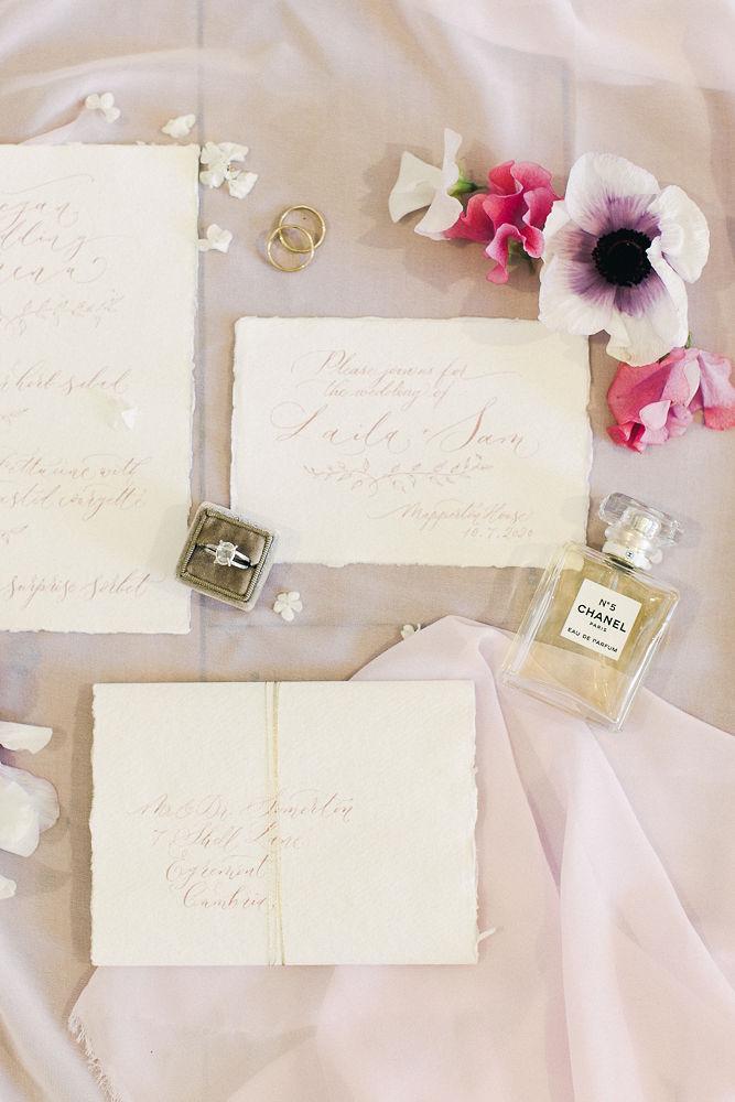 Photo Credit Liz Baker Rings Flowers Scent Invite
